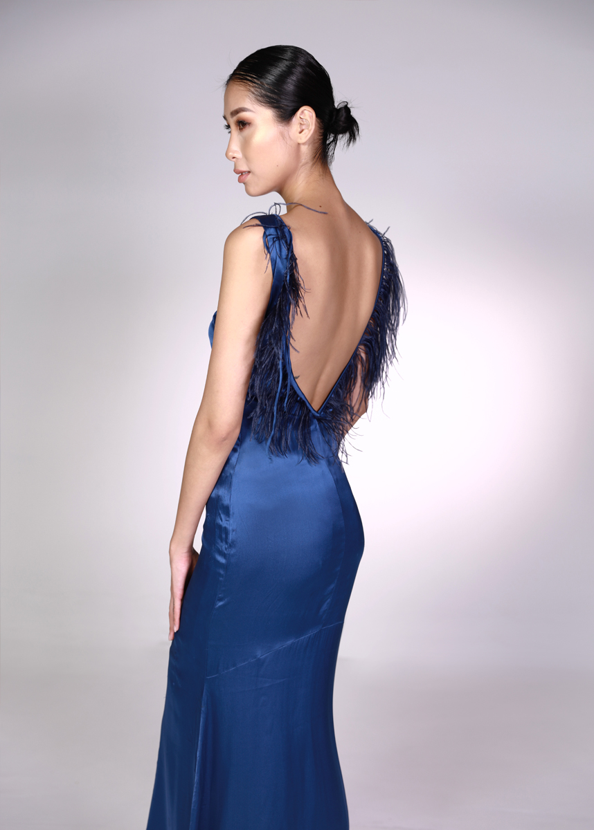 47231c34a0 Silk Evening Gown - Studio Saru